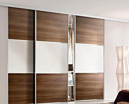 Подвесные раздвижные двери с ситемой Air Soft