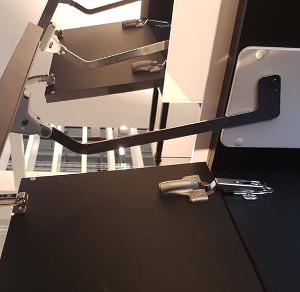 Подъемники для верхних шкафов
