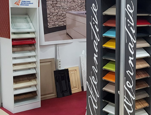 Образцы материалов для изготовления мебели