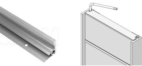 Профиль-ручка с коррекцией фасадов