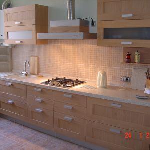 Кухня массив древа