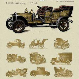 12 Vintage Cars