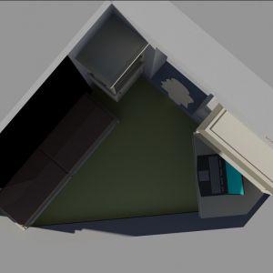 Проект мебели - вид сверху