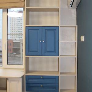 Шкаф-стеллаж для детской