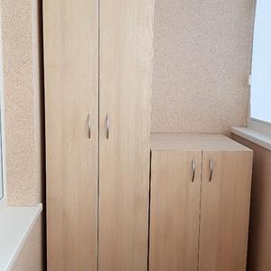 Распашные шкафчики на балкон