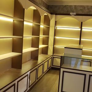 Стеллажные шкафы и прилавки