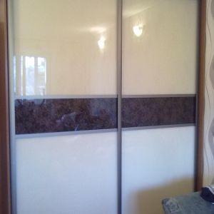 Шкаф-купе c декоративным стеклом Magic