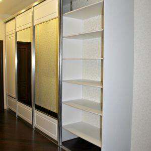 Белый шкаф МДФ