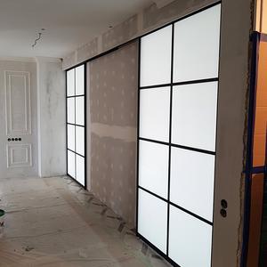 Двери-купе из стекла