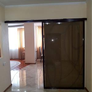 Раздвижная дверь кухня-гостиная