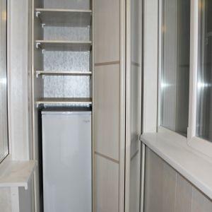 Встроенный шкаф на балкон 2
