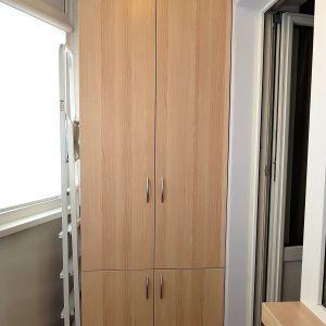 Распашной шкаф на балкон (1)