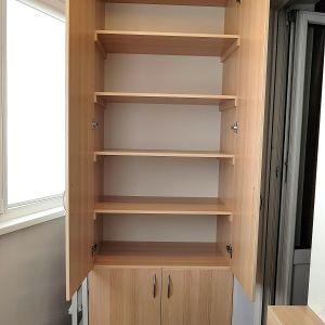 Распашной шкаф на балкон (2)
