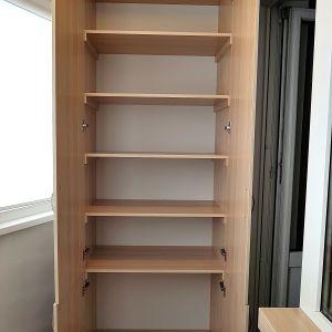 Распашной шкаф на балкон (3)