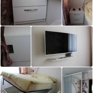 Набор белой мебели в спальню