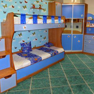 Синяя мебель для малышей