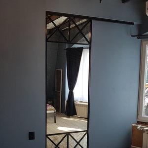 Раздвижная дверь для интерьера в стиле Лофт