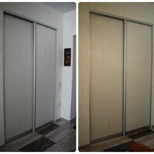 Встроенный шкаф с дверями-купе