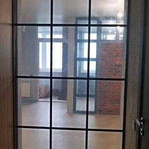 Раздвижная дверь гардеробной, вид изнутри
