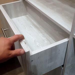 Выдвижной ящик с направляющими скрытого монтажа Blum