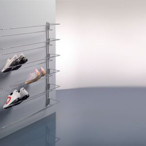 Полка для обуви с боковым креплением