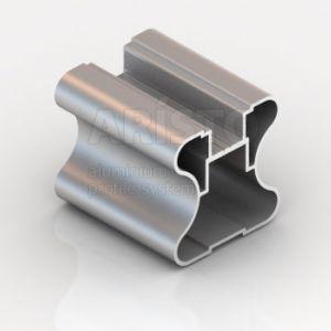 Профиль H Серебро матовое