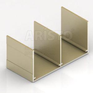 Rail Upper D Gold