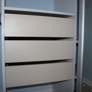 Наполнение шкафа - ящики
