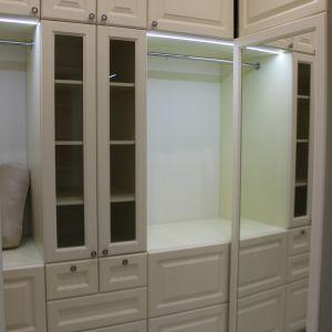 Встроенные шкафы с зеркалом