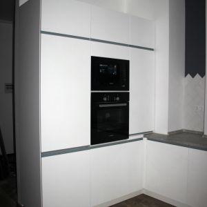 Белая кухня матовая