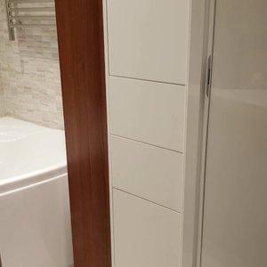 Мебель для ванной, туалета и прачечной в квартире, видео-отчет
