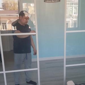 Раздвижная перегородка с прозрачным стеклом Триплекс четырехдверная