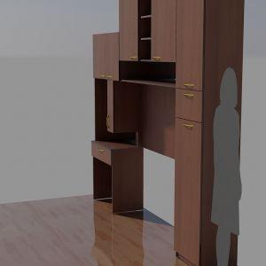 Комбинация мебели Орех 1