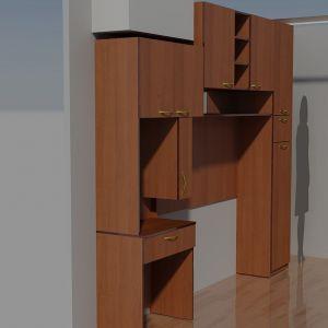 Комбинация мебели Орех 2