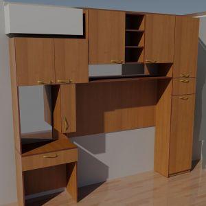 Комбинация мебели Орех 3