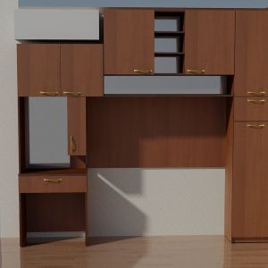 Комбинация мебели Орех 4