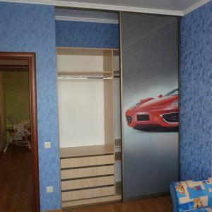 Встроенный шкаф фотопечать 2