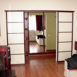 Раздвижные двери коридор-гостиная
