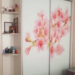 """Шкаф с фотопечатью """"Цветы"""""""