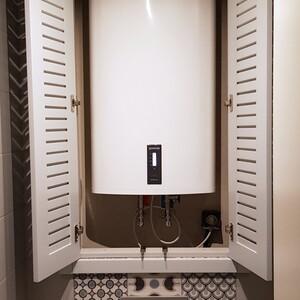 Встроенный шкаф с шаттерсами