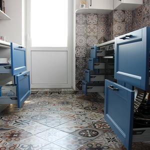 Ящик для тяжелой посуды BLUM