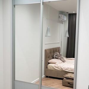 Двухдверный шкаф-купе для спальни