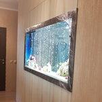 Шкаф для аквариума, встроенный в нишу [2]