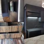 Мебель в квартиру: лоджия, рабочее место, мини-гардеробная, место под ТВ [10+видео]
