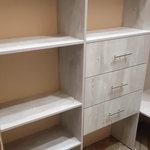 Гардеробная комната, ящики со скрытыми направляющими [5+видео]