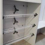 Белые шкафы для гардеробной [2]