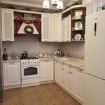 """Кухня с крашенными фасадами МДФ с фрезеровкой """"Грация""""[3]"""