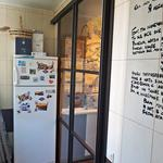 Подвесная перегородка между кухней и балконом, с прозрачным стеклом Триплекс [5+видео]