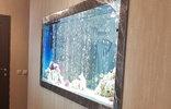 Шкаф для аквариума, встроенный в нишу