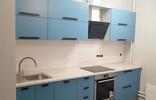 Прямая кухня с фасадами МДФ крашеный, матовый
